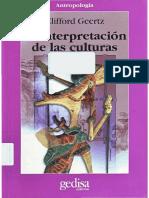 Interpretación de las culturas