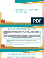 Calendario de Vacunas en Pediatria