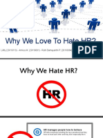 Why We Love to Hate HR (Revision After Discussion Session)
