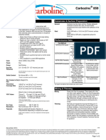 Carbozinc Data Sheet
