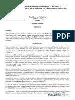 Case of DOTC vs. Abecina