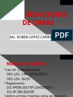 CLASE DE VALORIZACIONES DE OBRA