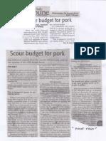 Daily Tribune, Aug. 28, 2019, Scour budget for pork.pdf