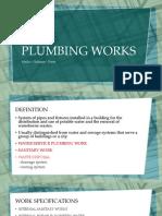 Plumbing Works Report