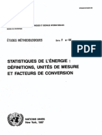 Definitions Unites de Mesures Facteur de Conversion