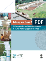 WSP India Compendium of Good Practices Rural Water Supply Schemes