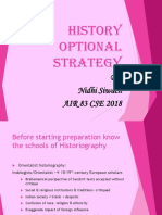 History Optional Strategy by Nidhi Siwach 1