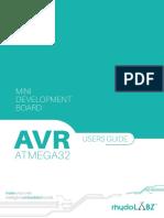 AVR MiniDev32 Usermanuel
