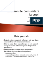 Pneumoniile La Copil - Prezentare Cazuri Studenti Nov.2008