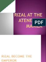 Rizal at the Ateneo de Manila.pptx