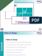 C1.7 Differentiation