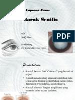 Laporan Kasus - Katarak Senilis.pptx