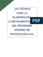 Manual de Programa de Proteccion Civil