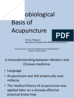 NEUROBIOLOGICAL BASIS OF ACUPUNCTURE