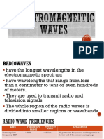 Electromagnetic Spectrum Applications