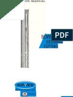 Bowen External Cutters