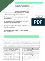Sesión 3 y 4 - Planteamiento del Problema y Objetivos de la investigación