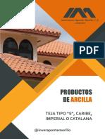 Teja De Arcilla S, Caribe, Imperial O Catalana