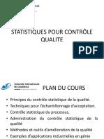 Statistique Controle Qlt Cour