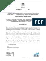 Bogotá prohibirá consumo de drogas y alcohol en sitios públicos
