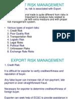 Export Risk