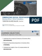 embracing social responsibility
