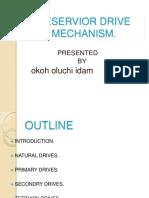 95469295 Reservior Drive Mechanism