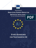 Guidelines for Trustworthy AI