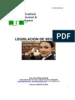 Manual de Legislacion de Seguros