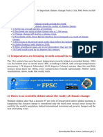 10 Important Climate Change Facts _ CSS, PMS Notes in PDF