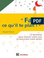 eBook - Fait Ce Qu Il Te Plait - 12 Semaines - Simon Maud - Fr