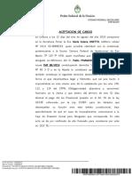 Abogada Onetto Defensora de Pinamonti