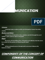 Communication(Conversational English)