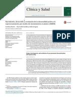 Nacimiento,Desarrolloyevolucióndeladesensibilizaciónyelreprocesamientopormediodemovimientosoculares(EMDR)