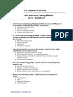 BASIC NDT - AE QB 1