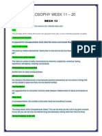 PHIL Week (11-20) Grd 11