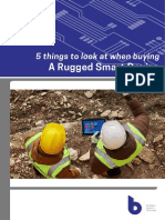 5 Things to Look at When Buying a Rugged Smart Device