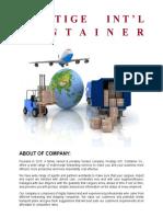 Company Profile Prestige