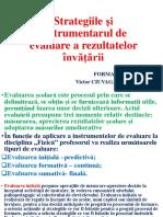 Strategiile Și Instrumentarul de Evaluare a Rezultatelor Învățării (2)