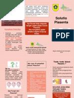 Leaflet Solusio Plasenta