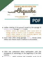 DRRR Earthquake