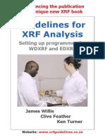 Leseprobe Guidelines for XRF Analysis1