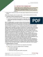 Task 2B Instruction Commentary