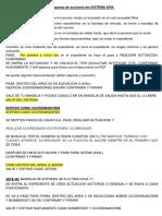 Esquema de Acciones Del SIstema APIA