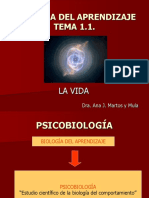 Biología de Aprendizaje