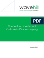 Value of Arts and Culture in Place-Shaping
