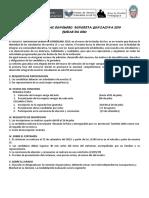 Bases Del Concurso Señorita Gonzalina 2019
