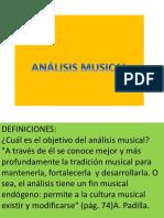 ANÁLISIS MUSICAL MELODICO