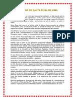 Historia de Santa Rosa de Lima-02