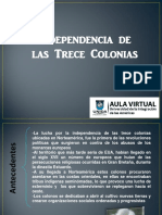 Independencia de las 13 Colonias
